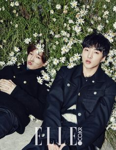 Winner - Elle Magazine November Issue '14 Taehyun, Seungyoon