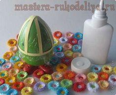 Мастер-класс по квиллингу: Шкатулка-яйцо