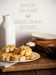 Bacon, Gruyere and Green Onion Scones