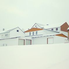 Base housing at Loring AFB