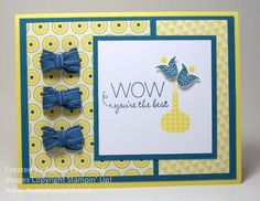 Stampin' Up! Cards Summer Smooches Tulip