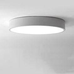 Современный минимализм Светодиодный потолочный светильник круглый Внутренний светодиодный свет вниз Потолочный светильник творческой исследования личности столовая балкон лампа