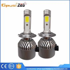 2017 Latest H1 H3 H4 H7 H8 H9 H11 H13 9003 9005 9006 9004 9007 Car H7 ETI Crees LED Headlight
