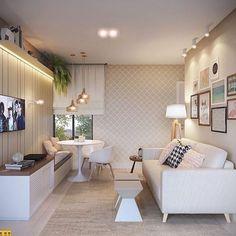 42 ideas home ideas decoration small spaces loft Simple Living Room, Living Room Grey, Living Room Sofa, Interior Design Living Room, Living Rooms, Small Sitting Rooms, Videos Instagram, Loft Interior Design, Trendy Home