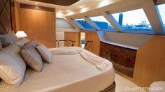 Master king suite - <b>OHANA</b> Charter <b>Yacht</b>