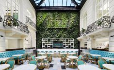 Kith Paris will be the brand's largest store to date at 16,000 square feet and will provide a holistic lifestyle experience for customers which includes Kith Retail, Kith Treats, and a Kith for Sadelle's restaurant Restaurant Design, Restaurant Bar, Soundtrack, Blue Bottle Coffee, Cabinet D Architecture, Coffee Subscription, Balsam Fir, Fresh Coffee, Building
