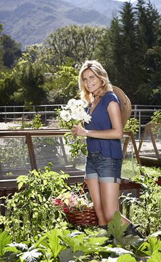 Organic Spa Magazine. Mariel Hemingway raises chickens and tends a biodynamic backyard garden.