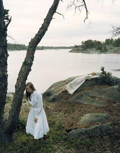 Photographedby Yelena Yemchuk for Vogue Nippon October 2006 - picnic at hanging rock inspired.............