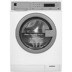 Kenmore Kenmore 41942  2.4 cu. ft. Compact Front-Load Washer w/ Steam Technology - White