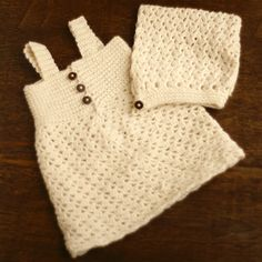 It's always a good time to crochet your little girl some new cute clothes. No matter what season it is, you can always find a precious crochet baby pattern to work up.  This adorable Vintage Pixie Dress is the perfect pattern for her to ring in the