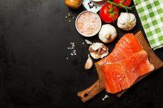 herbes légumes saumon menu sain Photo gratuit