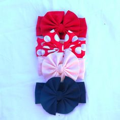 Holidays 2014,Big Bow Headband,LIttle Girls Head wrap,Girl Turban,Baby Boho headband,Black and White Head wrap,Red Christmas,Birthday,photo
