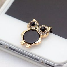 Cute Vintage Owl Charm Iphone Home Return Keys Buttons Sticker iPhone iPod Touch iPad Ipad Mini on Etsy, $3.99