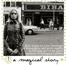 Biba in London, circa 60s
