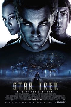 Amazon.com: Star Trek into Darkness Movie Poster 24x36 inches Chris Pine Zachary Quinto High Quality Gloss Poster Print 109: Posters & Prints