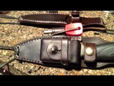 Mora Companion Leather Sheath - Tinder Box - YouTube