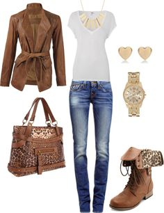 """Weekend Casual"" by mkmatysiak on Polyvore"