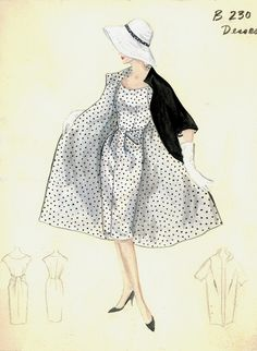 5 Fall Fashion Trends for Back-to-School This looks so cozy! Fashion Art Top off your look with a hat. Vintage Fashion Sketches, Fashion Illustration Vintage, Illustration Mode, Fashion Vintage, Fashion Illustrations, Fashion Drawings, Edwardian Fashion, Gothic Fashion, Vintage Dress Patterns