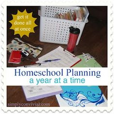 Homeschool Planning, a year at a time: Create the Support Systems - Simply Convivial