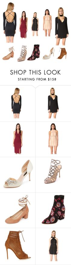 """Fashion for everyone"" by jamuna-kaalla ❤ liked on Polyvore featuring David Lerner, Flynn Skye, Nicholas, Free People, Badgley Mischka, Schutz, Loeffler Randall, Gianvito Rossi, Moschino and vintage"