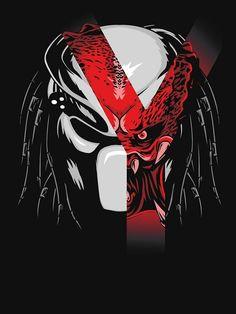 Predator Tattoo, Predator Movie, Alien Vs Predator, Arte Horror, Horror Art, Predator Cosplay, Predator Costume, Arte Ninja, Dragons
