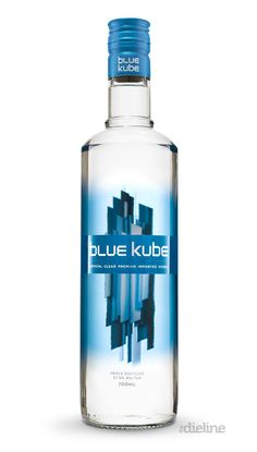 Blue Kube Vodka