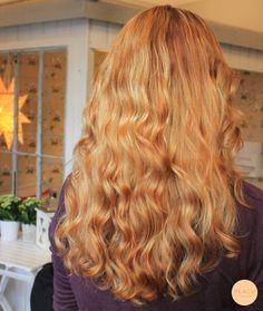 Kopparblond Copperblonde hair