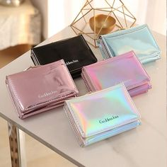 1pc Fashion Credit Cards Holder Cute Card Case Korea Business Id Card Holder For Plastic Card Organizer Office Supplies Bright Luster Desk Accessories & Organizer