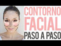 Tutoriales básicos: Cómo contornear el rostro paso a paso - YouTube