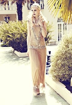 The Great Gatsby Vintage Fashion: Miss Selfridge, Frockandfrill, Dorothy Perkins - Miss Mode: The Great Gatsby - Reveal