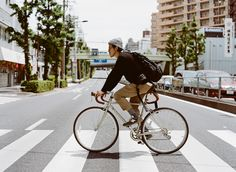 How to ride a bike in Tokyo | Kinfolk