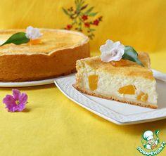 """Нежнейший творожный пирог с персиками """"Светланка"""" ингредиенты"""