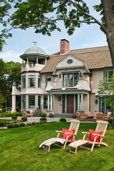 Architectural Millwork - Exterior - beach-style - Exterior - Boston - Stephen Terhune Woodworking
