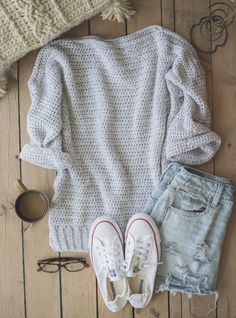Free Crochet Pattern: The Homebody Sweater