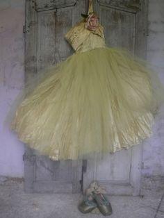vintage ballet dress