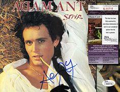 """ADAM ANT Hand Signed """"Strip"""" LP - JSA COA - UACC RD #289…"""