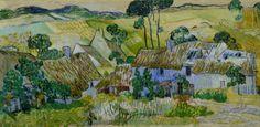 Farms near Auvers - Vincent Van Gogh, 1890 Tate Museum, London, UK  http://www.tate.org.uk