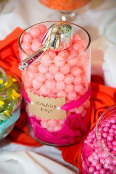 Color themed candy!