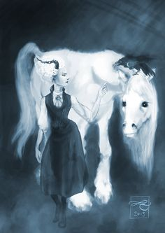 Discworld: Susan fan art by Murklins.deviantart.com on @deviantART