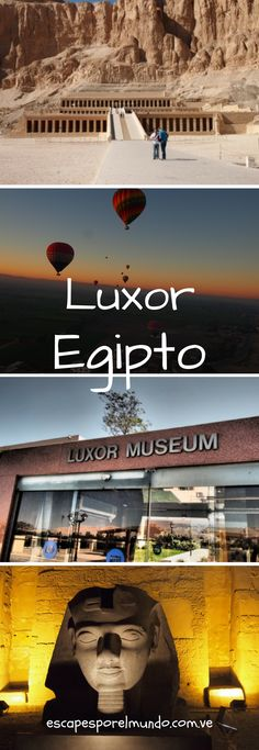 Travel | Destination | Travel around the world | Luxor | Egypt | Adventure