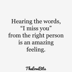 50 cute missing you quotes to express your feelings - thelovebits Cute Missing You Quotes, Cute Miss You, I Miss You Quotes, Cute Love Quotes, Romantic Love Quotes, Love Quotes For Him, Me Quotes, Qoutes, Quotes About Love Feelings