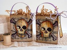 AudreyPettit Sizzix HappyHalloweenTreatBags - what an awesome job she did; look at the close-ups