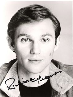 Richard Thomas, aww yes, I still watch the Waltons for him. He was so sweet.