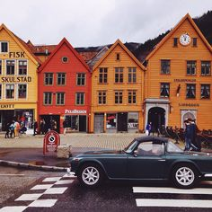 Bergen Norway's Second City and the Gateway to the Fjords. Photo by @julieghammer on Instagram.