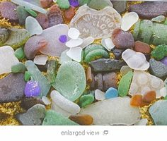 beautiful seaglass ~ @cottage & bungalow has jewelry made with these treasures