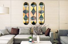 SkateHaus inova na criação de peças de decoração inspirados no skate - Clube do skate.