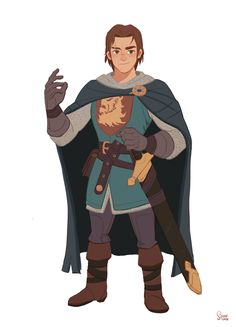 "ArtStation - personal project - Robin Hood 2015.""Captain of bodyguard _Marshall & king's adviser_Albert"", Hong SoonSang"