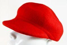 Boina Beatles Vermelha