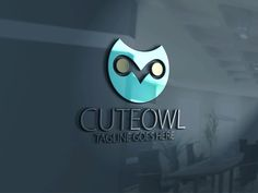 Cute Owl Logo by eSSeGraphic on @creativework247