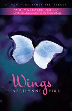 {690L} Wings #1_Pike, Aprilynne. When a plant blooms out of 15-year-old Laurel's back, it leads her to discover the fact that she is a faerie and that she has a crucial role to play in keeping the world safe from the encroaching enemy trolls.